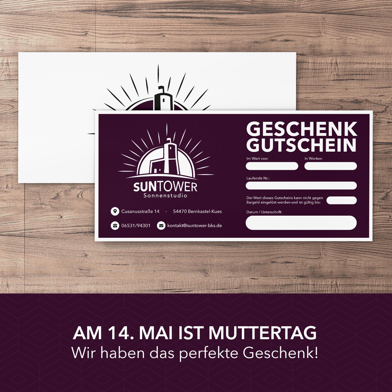 Gutschein SunTower Sonnenstudio Bernkastel-Kues