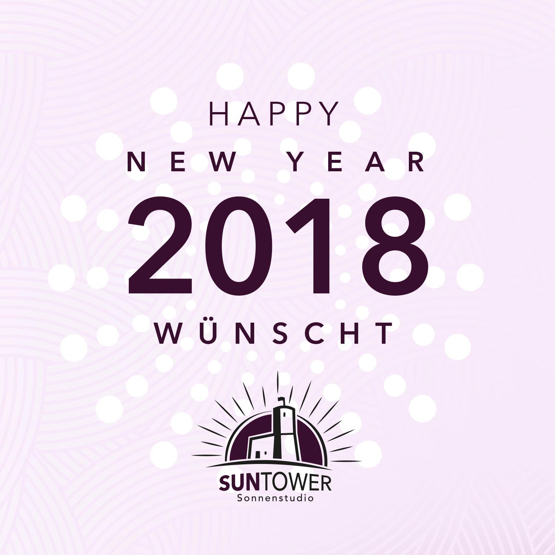 Neujahr Post - SunTower Sonnenstudio