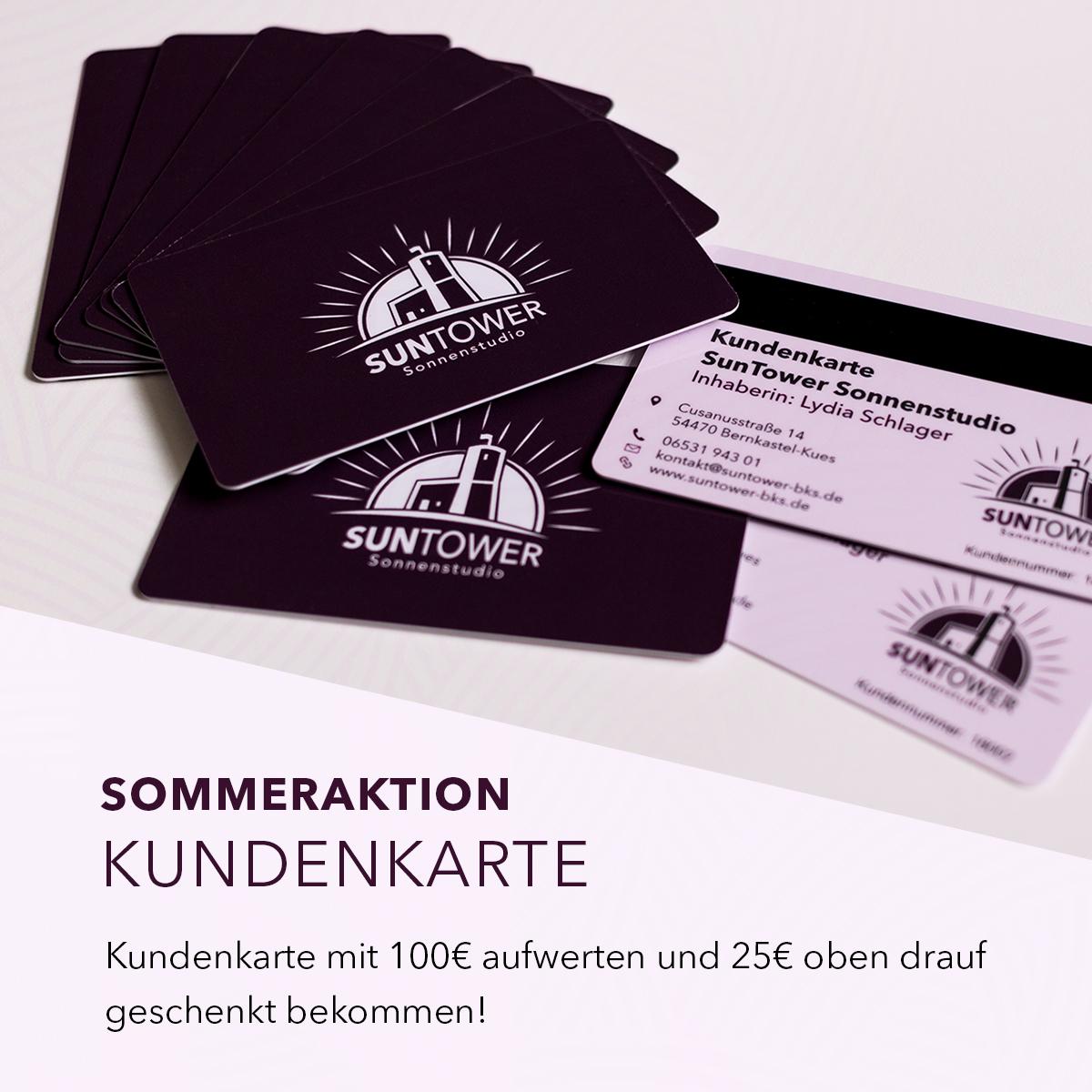 SunTower Sonnenstudio Bernkastel - Sommer Angebot