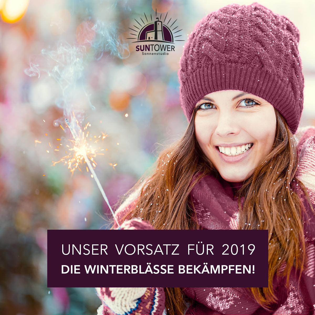 SunTower Sonnenstudio Bernkastel-Kues Frohes Neues Jahr
