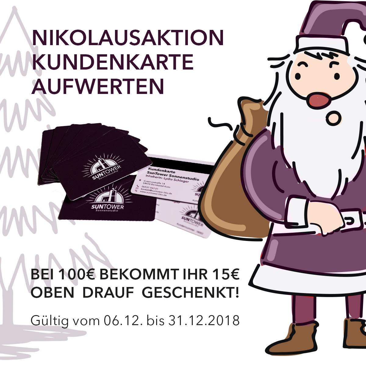Nikolaus-Aktion SunTower Sonnenstudio Bernkastel-Kues